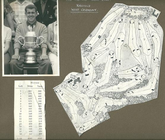 1961-Mike Holiday - German Open Championship Winner