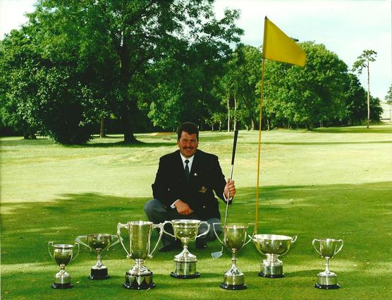 A great golfing year in 1998 for Paul Holliday