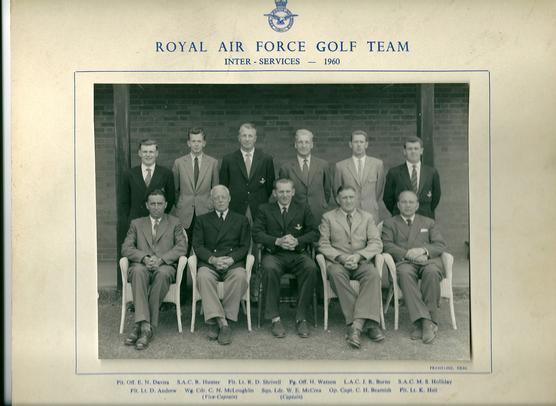 RAF Team 1960