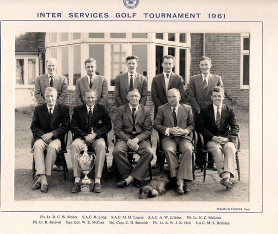 RAF Team - Inter-Services-1961